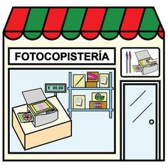 Pictogramas ARASAAC - Copistería. Paper Doll House, Paper Dolls, Community Places, Montessori Materials, Pretend Play, Ideas Para, Homeschool, Classroom, Teaching