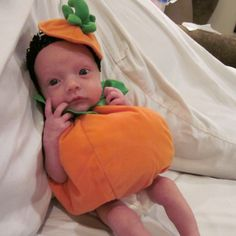 Great Halloween costume for preemies... Build-a-Bear outfits!  Our little 4 pound baby on Halloween.