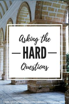 New blog post up that answers some of the difficult questions that Christians face!