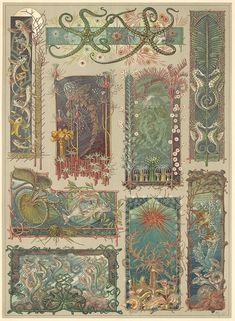 Flowers Pattern Design Prints Art Nouveau 49 Ideas For 2020 Art Deco, Art Nouveau Design, Illustrations, Illustration Art, Art Nouveau Wallpaper, Jugendstil Design, Street Art, Elements Of Design, Psychedelic Art