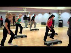 Step Aerobics @ Spiceball Banbury - YouTube