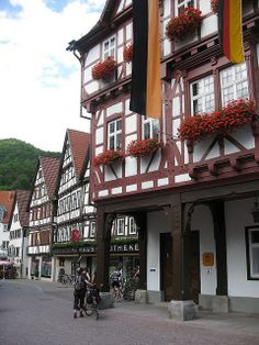Bad Urach, Stuttgart, Germany where my ex mother in laws mother is from. A place I want to visit