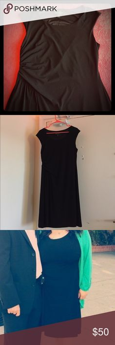 Black petite mini dress This dress was only worn once! It's very flattering. Dresses Mini