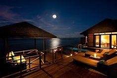 Beautiful chalet style rooms at The Sun Siyam Iru Fushi #maldives #vacation