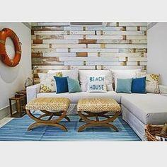 decor de praia,papel de parede, regatta