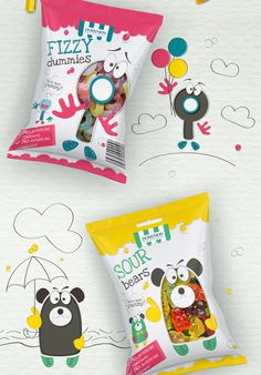 Fizzy Jellies Sweets on Behance