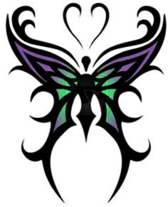 Only the best free Tribal Butterfly Tattoos On Sh… tattoo's you can find online! Tribal Butterfly Tattoos On Sh… tattoo's to print off and take to your tattoo artist. Purple Butterfly Tattoo, Butterfly Tattoo Cover Up, Butterfly Tattoo Meaning, Butterfly Tattoo On Shoulder, Butterfly Tattoo Designs, Butterfly Art, Butterfly Design, Butterflies, Purple Tattoos