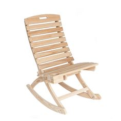 I want this for my balcony! Chair and Rocker (with a cup holder built in!)