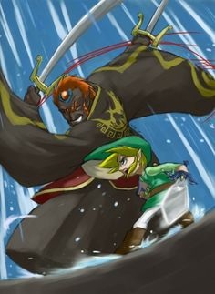 "The final battle from ""The Wind Waker"".  Best Ganondorf battle EVER!"