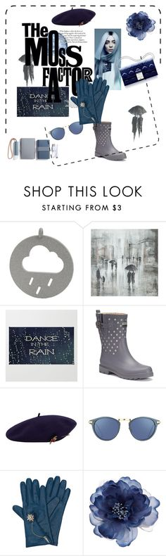 """Rain"" by marianti ❤ liked on Polyvore featuring Leftbank Art, Chooka, Christian Dior, MANGO, Linda Farrow, Henri Bendel, Accessorize and LEXON"
