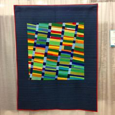 A total of EIGHTEEN quilts inspired by scores from the Improv Handbook For Modern Quilters were exhibited at QuiltCon 2015!