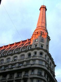 El paradigma francés en la arquitectura argentina | Cúpulas de Buenos Aires .