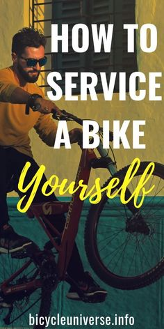 We've listed a few things to look for and tools you may need if you do want to try and service your own bike. How to Service a Bike Yourself Cycling Quotes, Cycling Tips, Cycling Workout, Bike Motor Kit, Bicycle Tires, Bicycle Maintenance, Cool Bike Accessories, Cycling Equipment, Road Bike