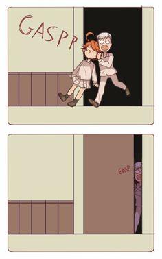Memes Yakusoku no Neverland Manga Anime, All Anime, Otaku Anime, Norman, Fan Art Anime, Hxh Characters, Funny Anime Pics, Anime Meme, Anime Child