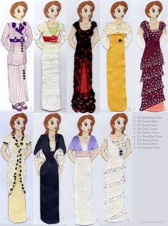 Roses Costumes ~ Titanic