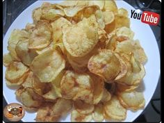 🍟🍟Batata Chips Crocante de Restaurante com Déby & Ian🍟🍟 - YouTube