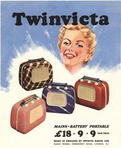 """1950s, UK"""" Picture art prints and posters by Advertising Archives ..."""