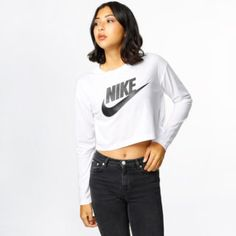 Longsleeve - NSW Essential Top White/Black