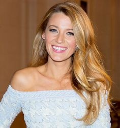 "Despite being the face of Gucci's Premiere women's fragrance and a spokesperson for L'Oreal Paris, actress Blake Lively revealed in an interview with Hello! magazine that she's actually ""shy."" ""Honestly I am a shy person,"" she told the mag, ""My hair is a safety net for me, so I love to have it down and full and relaxed.""  ""Often you see people on the red carpet with tight updos, but that makes me feel stiff,"" the blonde added of her preferred hairstyle."