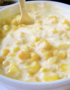 This homemade cream corn is the MOST REQUESTED side dish of family dinners! It's heavenly, fattening, and even more heavenly. You WILL want seconds!