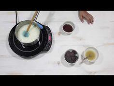 Brillo a Base de Chocolate Negro - YouTube Chocolate Fondue, Frosting, Fondant, Cocoa, Cake Decorating, Base, Make It Yourself, Tableware, Desserts