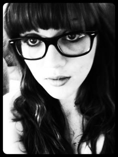 Glasses & bangs... It's hard having both. But, I make it happen lol