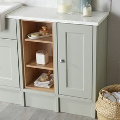 Thanks for you visiting Burford Pebble Grey Fitted Bathroom. Bathroom Vanity Units, Modern Bathroom, Small Bathroom, Family Bathroom, Fitted Bathroom Furniture, Cabinet Furniture, Furniture Storage, Bath Tub Fun, Roper Rhodes