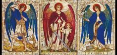 Today is the feast of the ArchAngels, Saint Michael, Saint Gabriel and Saint Raphael. It is unusual that the readings today do not mention any of these three ArchAngels. Both readings do describe the angels in heaven that constantly served…Read more › Michael Gabriel, Saint Gabriel, St Raphael, Archangel Raphael, Book Of Jude, Angel Protector, Tarot Gratis, San Rafael, Angel Images