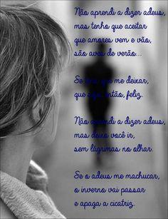 Não Aprendi a Dizer Adeus - Leandro e Leonardo Leandro E Leonardo, Lyrics, Songs, Saying Goodbye, Happy, Amor, Frases, Music Lyrics, Verses