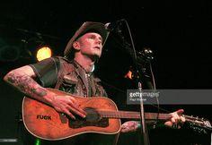 Hank III performs at Saint Andrews Hall on November 25, 2011 in Detroit, Michigan.