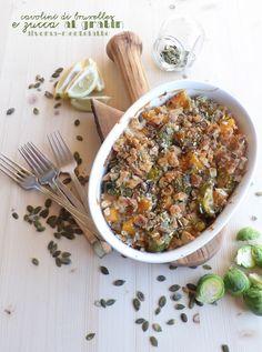 verdure al gratin #senzalattosio e #senzauova