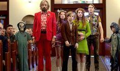 Viggo Mortensen and his motley progeny in Captain Fantastic.