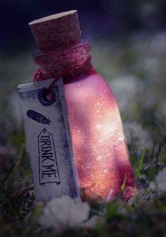 DRINK ME potion, magic