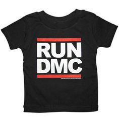 every baby needs a RUN DMC t-shirt