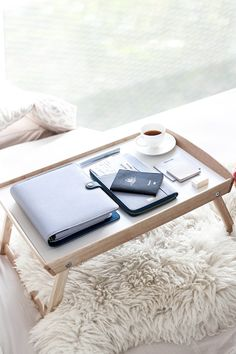 Be inspired with this gorgeous Mist Blue kikki.K Planner and leather Travel Wallet styled by The Tia Fox.