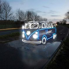 VW Bus ...they will light up your life :)