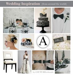 Black and White Wedding | COUTUREcolorado WEDDING: colorado wedding blog + resource guide