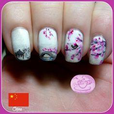 Oriental garden nails