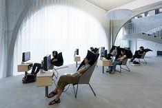 Tama Art University Library / Toyo Ito by Iwan Baan