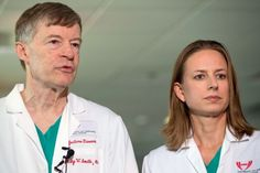 Two Americans With Ebola Being Treated at Two Different U.S. Hospitals Sep. 9, 2014 9:32amLiz Klimas