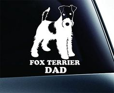 Fox Terrier Dad Dog Symbol Decal Paw Print Dog Puppy Pet Family Breed Love Car Truck Sticker Window (White) ExpressDecor http://www.amazon.com/dp/B00SNM1YL6/ref=cm_sw_r_pi_dp_-r52ub1A8N409