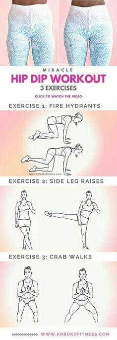 Learn the 10 Minute Wider Hips Workout to Fix Hip Dips-The best hip dip workout . Learn the 10 Minute Wider Hips Workout to Fix Hip Dips-The best hip dip workout exercises with full workout v Health And Fitness Articles, Fitness Tips, Health Fitness, Fitness Plan, Fitness Quotes, Health Diet, Health Logo, Body Fitness, Physical Fitness