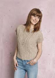 Billedresultat for strikkeopskrift - bluse fra ærme til ærme