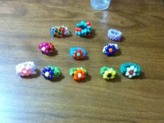 kandi rings collection