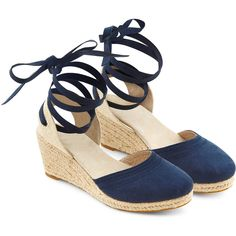 e0497afb35e Elevate warm weather outfits with our Clover espadrille soft suede wedge  sandals