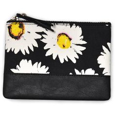 Motel Zip Mini Purse in Wild Daisy ($12) ❤ liked on Polyvore featuring bags, handbags, shoulder bags, wild daisy, shoulder handbags, zipper purse, man bag, mini shoulder bag and zip purse