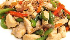 Pollo con Verduras estilo Chino