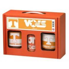 Tennessee Vols TailGate Set (Hot Sauce, BBQ and Salsa)