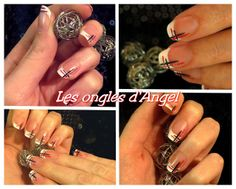 Nail art french school