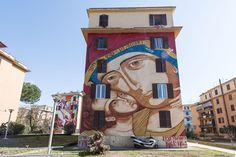 StreetArt Roma: Santa Maria di Shanghai   Mr. Klevra   2015   Zona: Tor Marancia   #art #streetart #roma